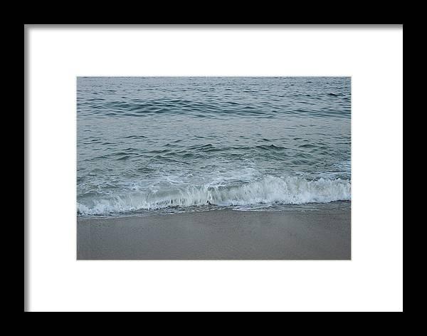 Ocean Framed Print featuring the photograph Evergreen Sea Charlestown R.i. by Cheryl Martin