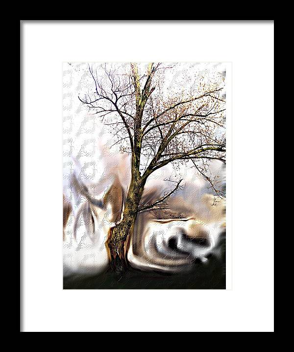 Landscape Framed Print featuring the digital art Everlasting by Crystal Webb