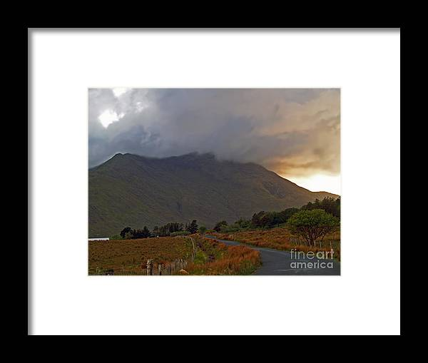Fine Art Photography Framed Print featuring the photograph Every Cloud Has A Silver Lining by Patricia Griffin Brett