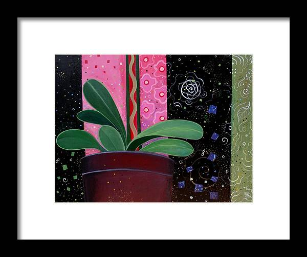 Sacred Framed Print featuring the painting Everyday Sacred by Helena Tiainen