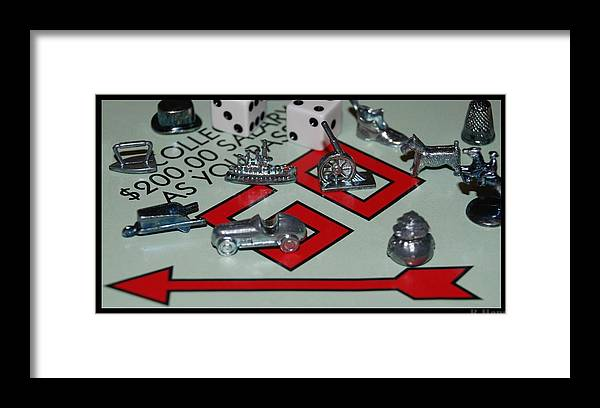 Monopoly Framed Print featuring the photograph Everyone Pass Go by Rob Hans