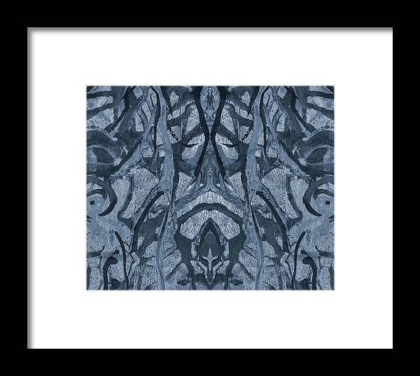 Evolutionary Branches Framed Print featuring the mixed media Evolutionary Branches by Dan Sproul
