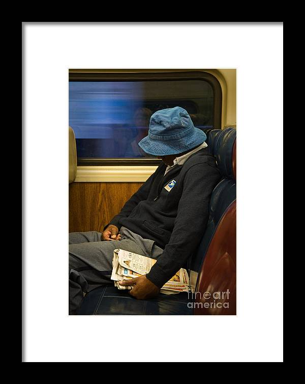 New York Framed Print featuring the photograph Exhausted by Fred Lassmann