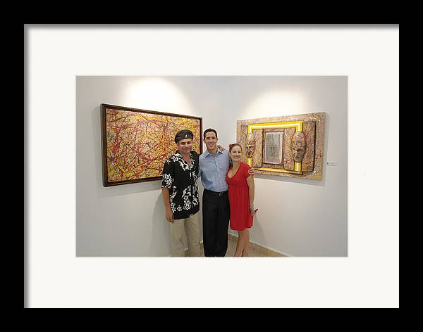 Exhibition Cozumel Framed Print featuring the photograph Exhibition Cozumel Museum Mexico by Angel Ortiz
