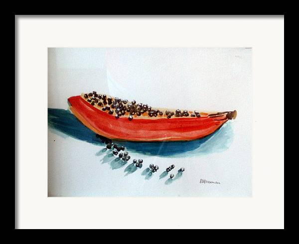 Still Life Framed Print featuring the painting Exodus by Lia Marsman