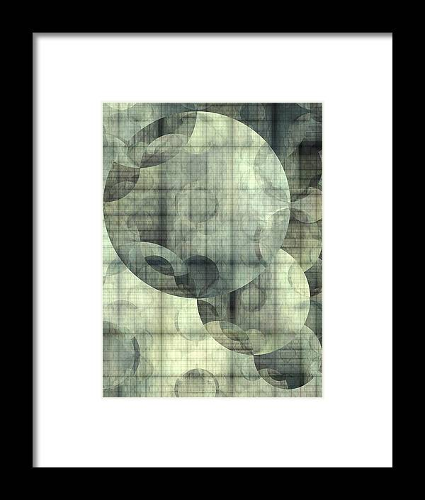 Abstract Framed Print featuring the digital art Expansion by Ian Duncan Anderson