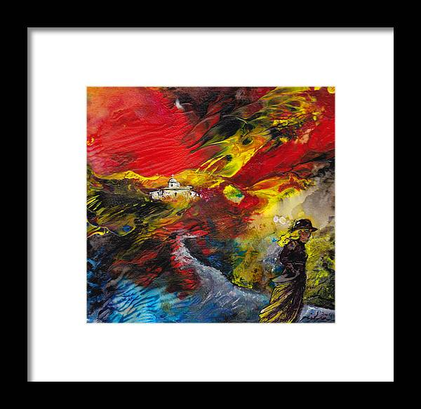 Impressionism Framed Print featuring the painting Expelled From The Land by Miki De Goodaboom