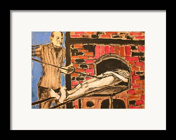 Framed Print featuring the painting Extermination by Biagio Civale