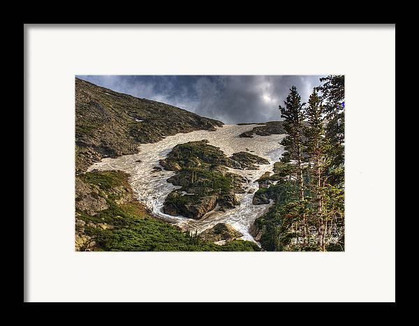 Landscape Framed Print featuring the photograph Extreme Trail by Pete Hellmann