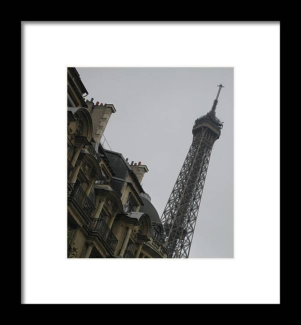 Eiffel Tower Framed Print featuring the photograph Eye Full by Victoria Heryet