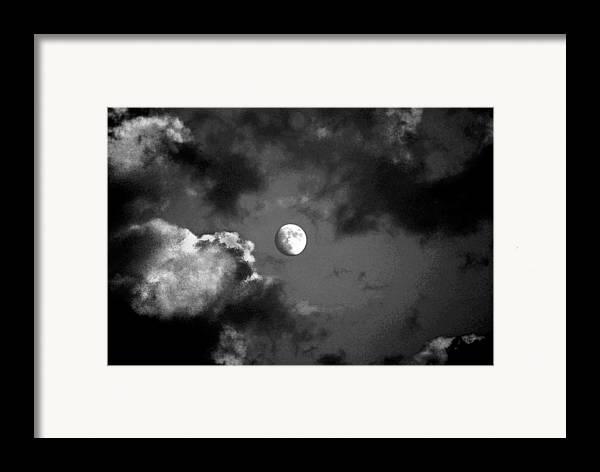 Sky Framed Print featuring the photograph Eye In The Sky by Steve Karol