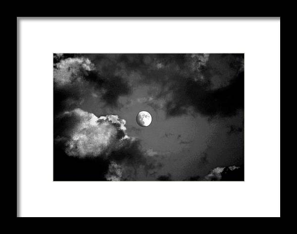 Sky Framed Print featuring the photograph Eye In The Sky by Steve Karol