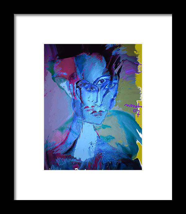 Human Compostion Framed Print featuring the painting Faces Of Eve by Noredin Morgan
