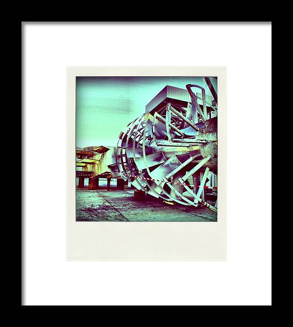 Factory Framed Print featuring the photograph Factory by Stephane Delbecq