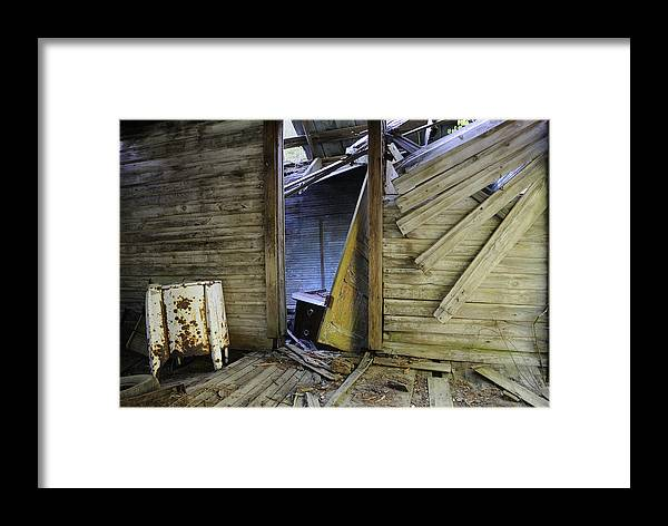 Old Framed Print featuring the photograph Faded Light by Ed Zirkle