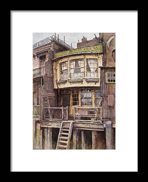 Vintage Framed Print featuring the digital art Fagin's Den by Sarah Vernon