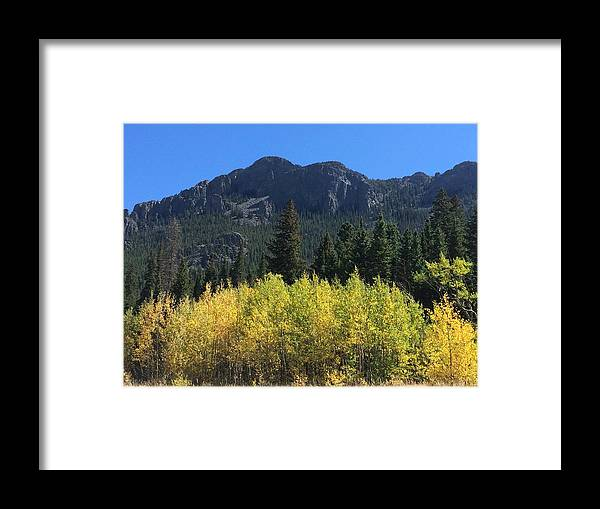 Landscape Framed Print featuring the photograph Fall At Twin Sisters by Kristen Anna