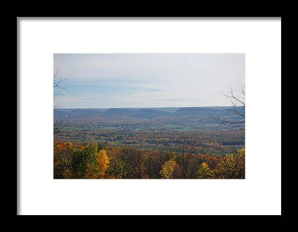 Fall Framed Print featuring the photograph Fall Colors In The Valley by Richard Botts