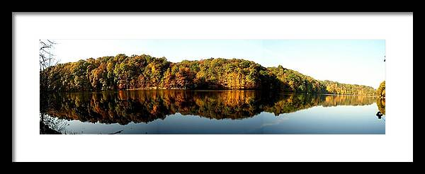 Fall Framed Print featuring the photograph Fall In Indiana by Carol Milisen