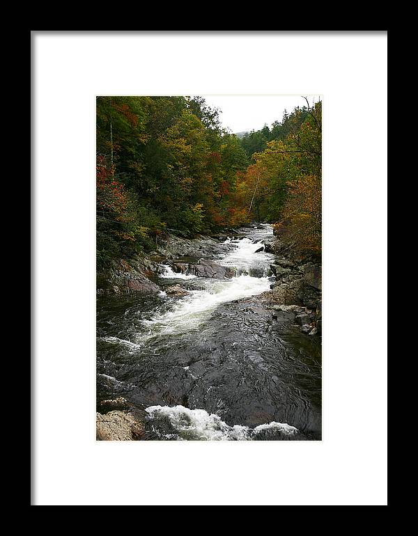 Scenery Framed Print featuring the photograph Fall Mountain Stream by James Jones