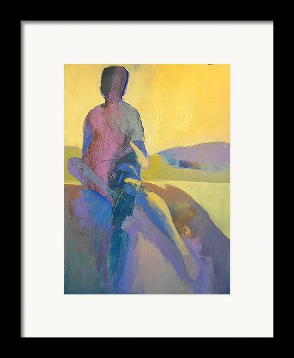 Pastels Framed Print featuring the painting Fallbrook by Dale Witherow