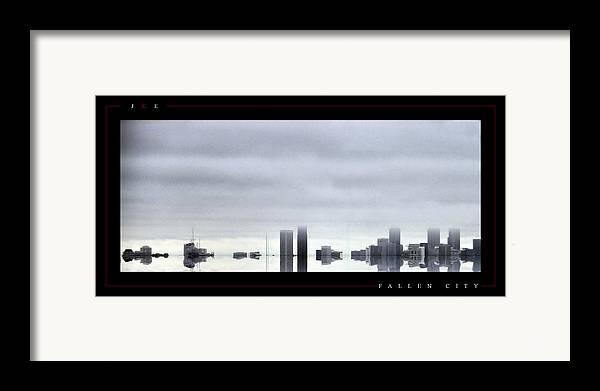 Atlanta Framed Print featuring the photograph Fallen City by Jonathan Ellis Keys