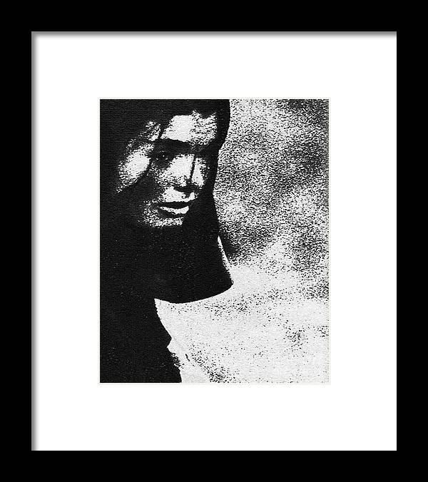 Computer Framed Print featuring the digital art Fallen Love by Jack Norton