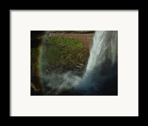 Nature Framed Print featuring the photograph Falls 1 by Eric Workman