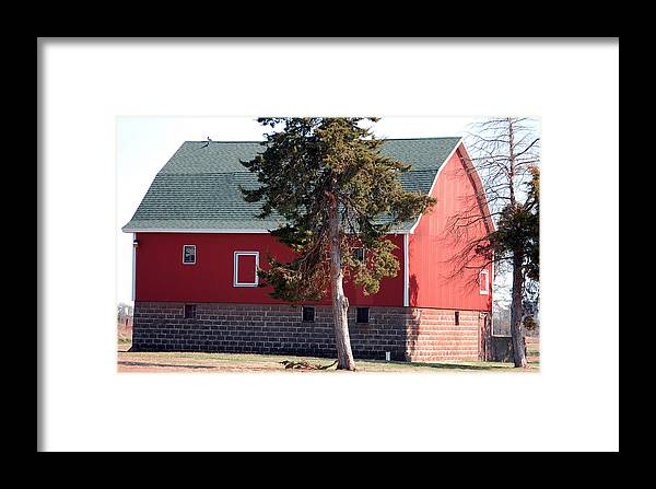 Barn Framed Print featuring the photograph Family Barn by Jame Hayes
