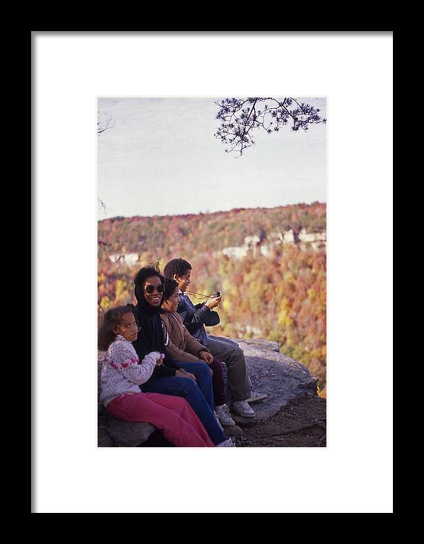 Family Framed Print featuring the photograph Family Outing by Randy Muir