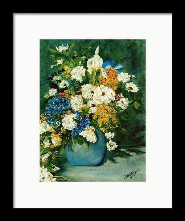 Still Life Framed Print featuring the painting Family Ties by Susan Dehlinger