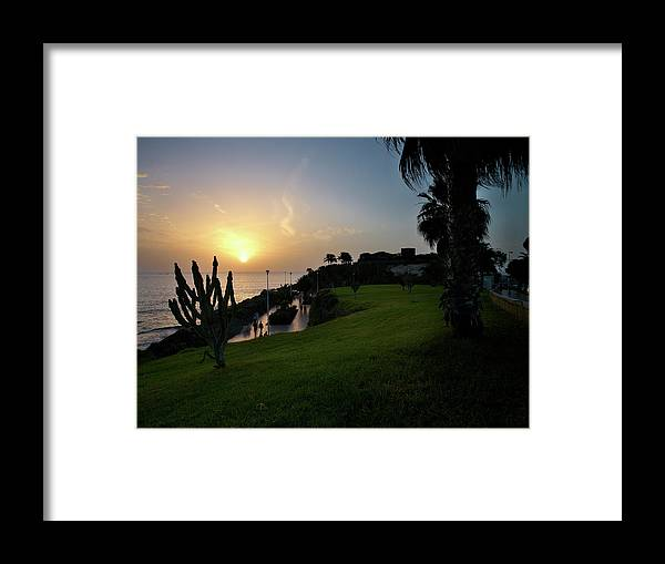 Fanabe Framed Print featuring the photograph Fanabe Evening 1 by Jouko Lehto