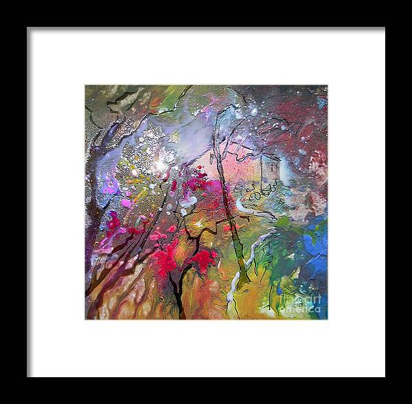 Miki Framed Print featuring the painting Fantaspray 19 1 by Miki De Goodaboom