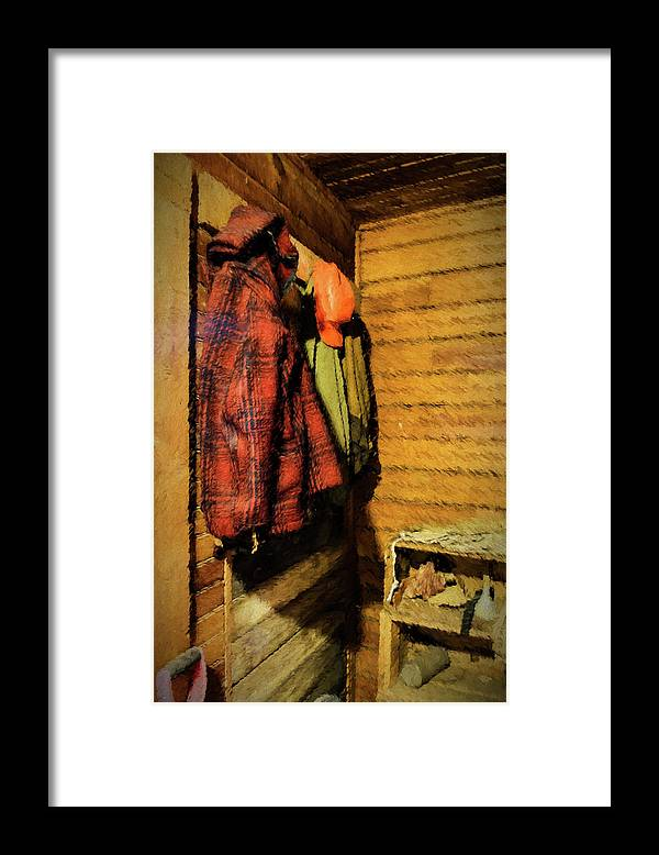 Scott Farm Vermont Framed Print featuring the photograph Farm Jackets by Tom Singleton