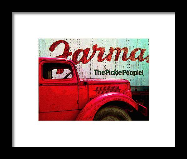 Trucks Framed Print featuring the photograph Farman by Jeff Burgess