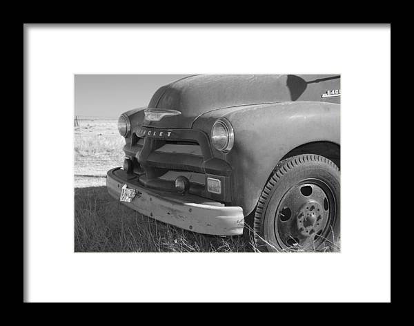 1953 Chevy Truck Framed Print featuring the photograph Farmers Best Friend by Bill Hyde