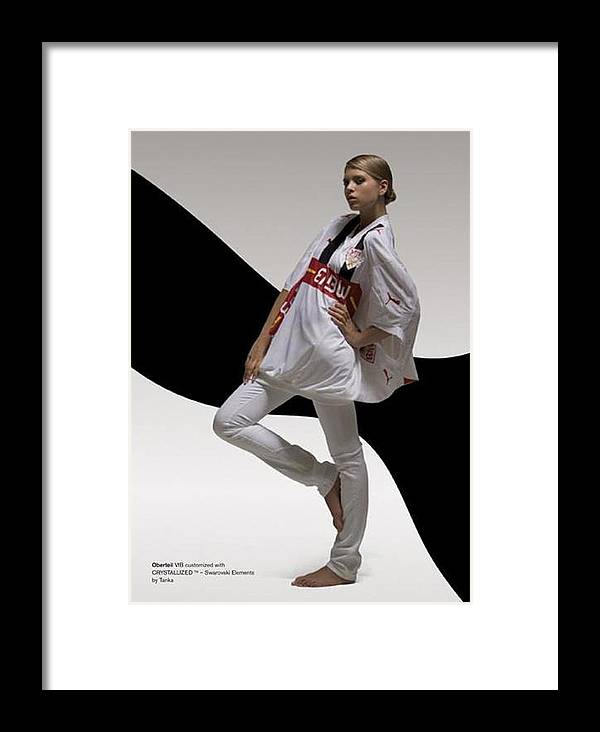 Berlin Framed Print featuring the photograph Fashion Football by Laurent Sylla