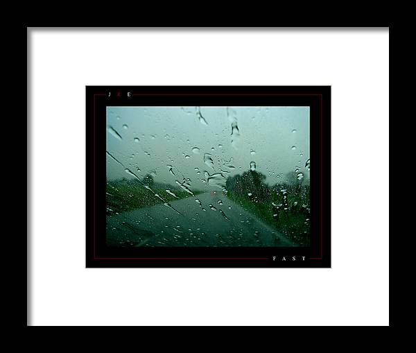 Fast Framed Print featuring the photograph Fast by Jonathan Ellis Keys
