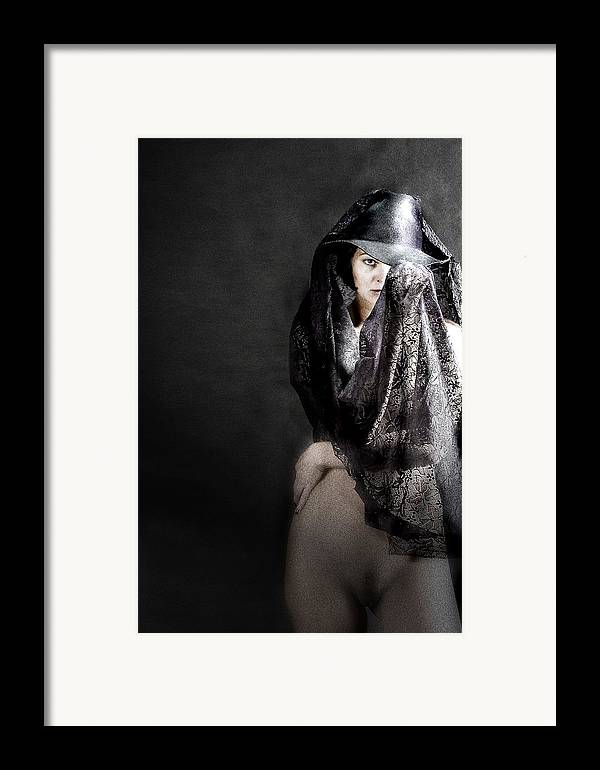 Framed Print featuring the photograph Femme Fatale by Zygmunt Kozimor