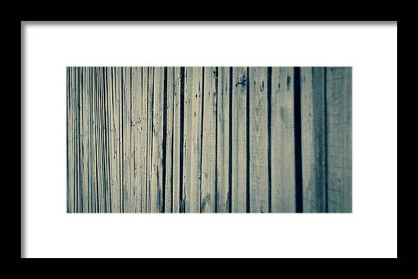 Fence Framed Print featuring the photograph Fenced In by Keith Kadwell