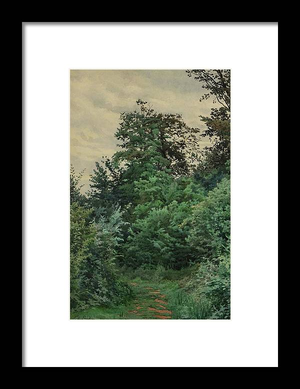 Ferdinand M. De Dartein (1838-1912) 'verrieres' Framed Print featuring the painting Ferdinand by MotionAge Designs