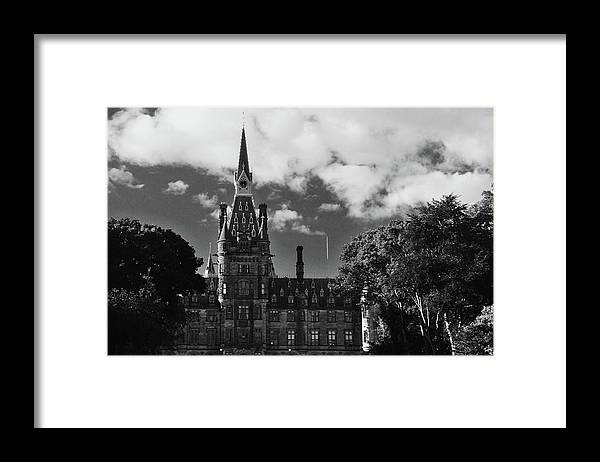 Nik Watt Framed Print featuring the photograph Fetes In Monocolor by Nik Watt