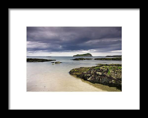 Fidra Framed Print featuring the photograph Fidra by Sam Smith