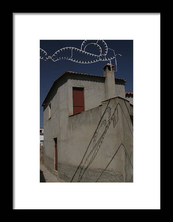 Photographer Framed Print featuring the photograph Fiesta Lights by Jez C Self