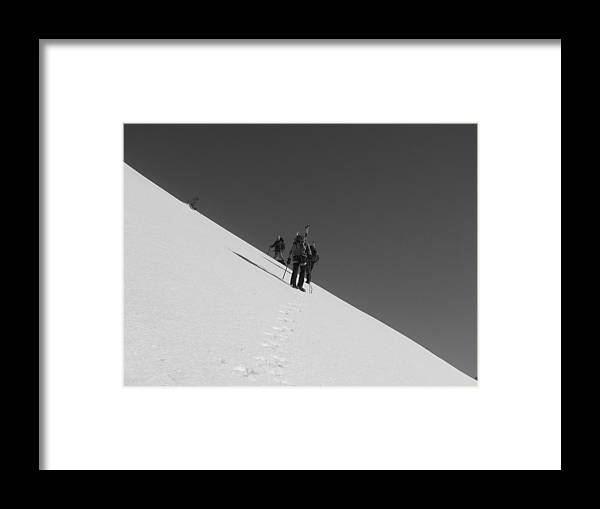 Landscape Framed Print featuring the photograph Fifty Fifty by Mark Camp
