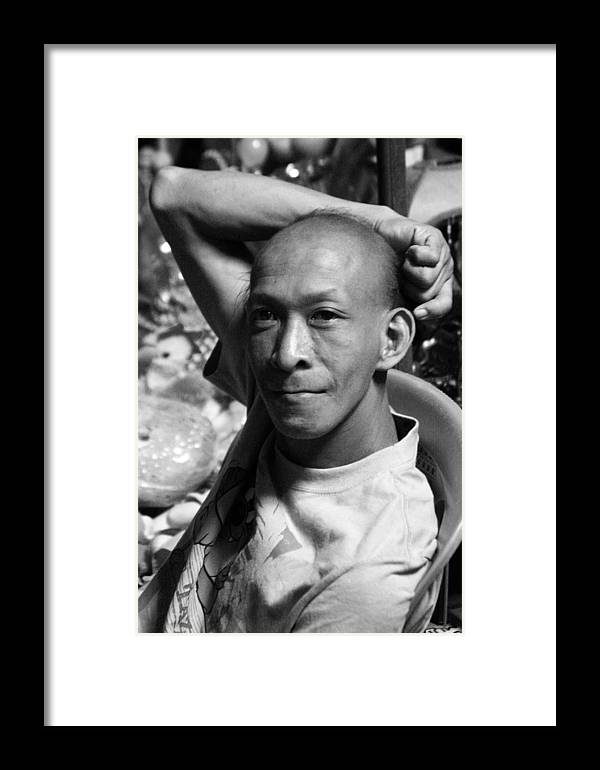 Photographer Framed Print featuring the photograph filipino Andy by Jez C Self