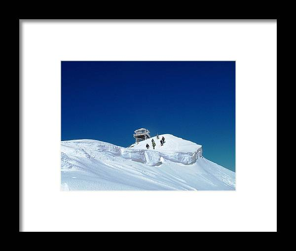 Landscape Framed Print featuring the photograph Final Push by Mark Camp