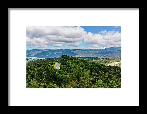 Landscape Framed Print featuring the photograph Find Your Road by Chris Greig