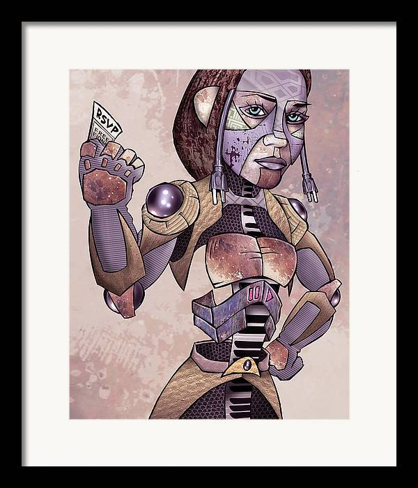 Fine Art America Framed Print featuring the drawing Fiona Apple - Extraordinary Machine by Sam Kirk