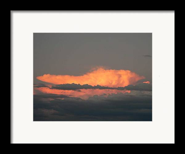 Photography Framed Print featuring the photograph Fire Storm by Cynthia Ann Swan